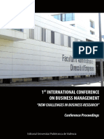 I International Conference Business Management _Proceedings