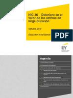 NIC 36 Deterioro Valor Activos