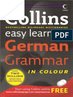 Collins Easy Learning German Grammar(Cut) 324 pages