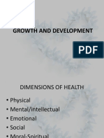 Dimensions of Health 2018