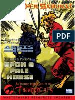 M&M Fanzine - Super Samurai 01 02
