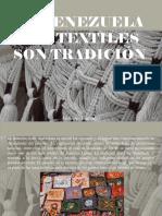 Atahualpa Fernández - En Venezuela Los Textiles Son Tradición