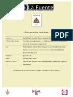 Isabel Fraile Martin Vianey Bautista Diaz La Obra Contemporanea y Su Exhibicion en Puebla Reflexiones Acerca de Los Espacios Expositivos