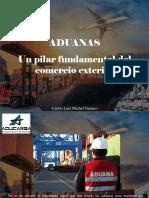 Carlos Luis Michel Fumero - Aduanas, Un Pilar Fundamental Del ComercioExterior