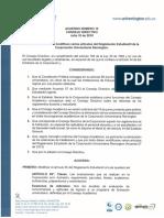 Acuerdo n12 Jul 10-2018 Reforma Varios Artículos Del Reglamento Estudian...