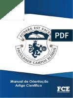 manual de artigo FCE