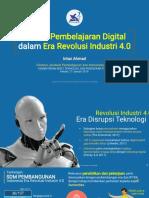 Proses Pembelajarab Digital Di Era Revolusi Industri 4