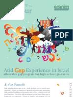 Atid Gap Experience in Israel