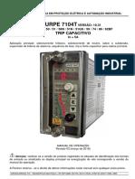 URPE7104TV10.31r03 - Manual de Operação