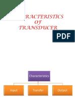 6.Characteristics of Transducer (1)