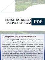 EKSISTENSI Keberadaan HPL