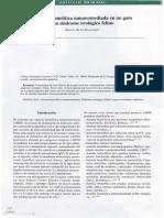 Infección Urinaria Por Proteus Miriabilis Multiresistente