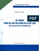TCXD 232 - 1999 He thong thong gio, dieu hoa khong khi va cap lanh - Che tao, lap dat va nghiem thu.pdf