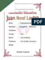caratula de Juan Noel Lastra.doc