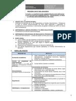 60. 060 2018 CODE Especialista en Gestión Administrativa Profesional III Para La Oficina Desconcentrada de Piura