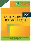 Cover Laporan K3 Juli 2018