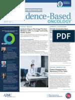 Evidence based oncology Aug EBO 2017
