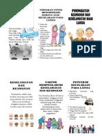 Keamanan dan keselamatan pada lansia