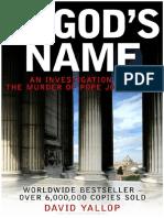 59470743 Yallop David en Nombre de Dios Juan Pablo i