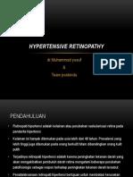 Retinopati Hipertensi Pos Bindu