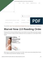 Marvel Now 2