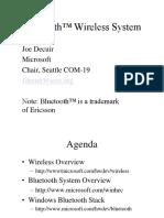 Bluetooth SDP Protocol