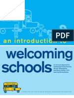 An Introduction to Welcoming Schools