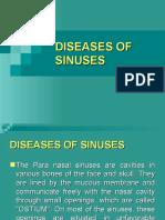 Diseases of Sinuses