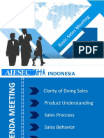 Basic Sales Education