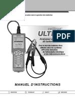 168 641F FR, Manual, CTU 6000, French
