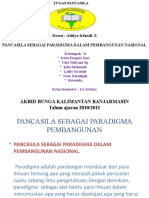 Pancasila Sebagai Paradigma Pembangunan Powr Point