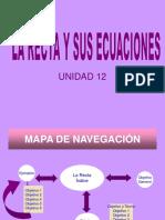 Unidad 12 La Recta y Sus Ecuaciones