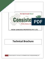 Technical Brochure of Kankaria Properties