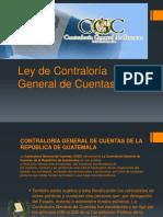 LEY DE CONTRALORIA GENERAL DE CUENTAS