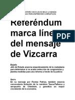 Chimbote Mensaje a La Nación Pag 2 28-7-2018