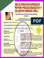 Cartel Curso de Formacion Superior en Acupuntura Nivel I- Nuevas Fechas