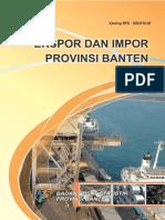 Ekspor Dan Impor Provinsi Banten Tahun 2014