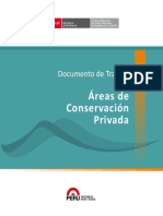 Areas de Conservacion Privada