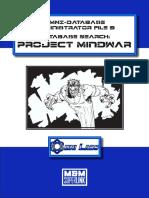 M&M Superlink - Omni-Database Administrator File 3 - Project Mindwar