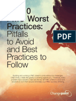 PMO CP WP PPM Top-ten-pitfalls