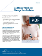 Know Your Bloodsugar Numbers