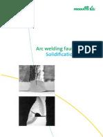 Arc Welding Cracks Solidification