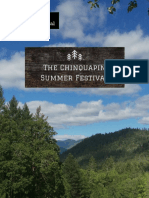 Chinquapin Summer Festival Booklet - The Information Aug 16th