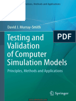 Testing and Validation of Computer Simulation Models