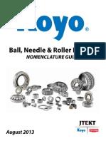 Koyo Ball, Needle and Roller Bearing Nomenclature Guide