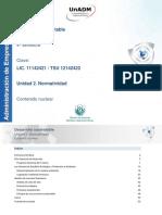 Unidad 2. Normatividad_contenido Nuclear_2017-1 Desarrollo Sustentable