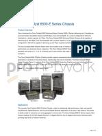 Cisco Data Sheet 6500 Series