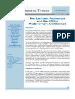 09-03-WP Mapping MDA to Zachman Framework 1