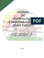 Manual de Andrologia Equina