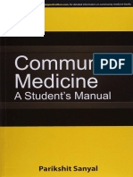 2015 Community Medicine a Students Manual